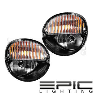 2004 2008 Pontiac Grand Prix Solstice Signal Fog Lights Lamps Left Right Pair