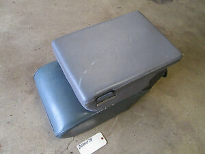 94 95 96 97 Dodge Ram 1500 2500 3500 Truck Arm Rest Center Console Seat Gray