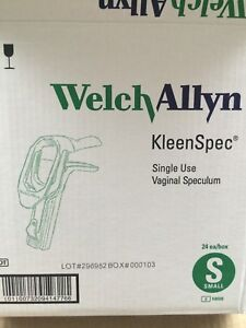 Welch Allyn Kleenspec Vaginal Speculum Small 1 bx