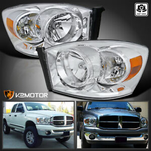 For 2006 2008 Dodge Ram 1500 2007 2009 Ram 2500 3500 Headlights Left Right