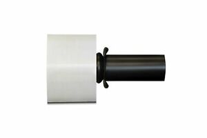 3 In X 1000ft 80 Ga 18 Rolls Extended Core Stretch Wrap Black Spinner Handle