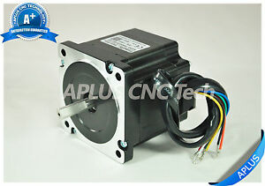 Nema 34 Stepper Motor 78mm 594oz in 5 6a 8leads For Cnc Router Mill Plasma