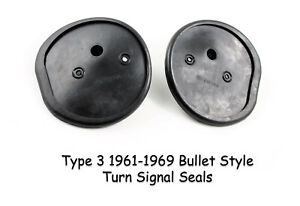 Vw Type 3 1961 1969 Bullet Turn Signal Base Seals Notchback Squareback Fastback