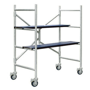 Xtend Climb Imac 4 Ft Aluminum Scaffolding With Wheels