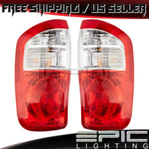 Double Cab Rear Brake Tail Lights For 2000 2006 Toyota Tundra Left Right Pair