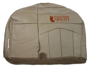 2001 2003 Ford F150 Lariat Passenger Replacement Bench Bottom Seat Cover Tan