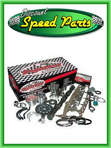 Sbc Chevy 350 5 7l Stage 3 Hi Perf Engine Rebuild Kit Camshaft Pistons Lifter
