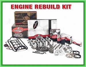 Fit 1993 1994 1995 Chevy Gm Light Truck 350 5 7l Ohv V8 Sbc Engine Rebuild Kit