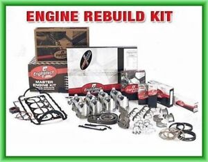 Enginetech Engine Rebuild Kit 87 92 Chevy Gm Light Truck 350 5 7l Ohv V8 16v Sbc