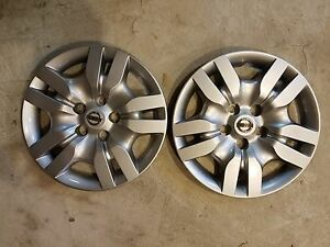 Pair Of 2 New 2009 10 11 12 Altima 16 Wheel Covers Hubcaps 53078 Free Shipping