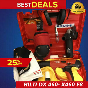 Hilti Dx 460 X460 F8 Power actuated New Free Grinder Many Items Fast Ship