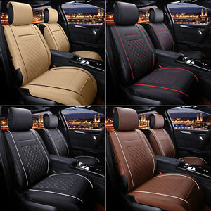 Front Rear Car Pad Cushion Seat Covers 5 Seats For Hyundai Sonata 2013 2016