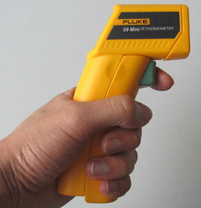 New F59 Mini Handheld Laser Ir Infrared Thermometer Gun