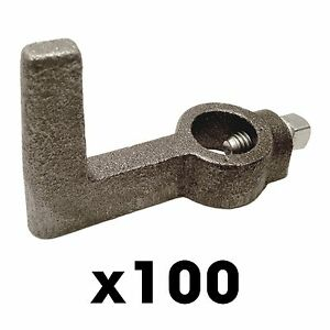 100 2x4 Single Screed Hooks Concrete Forms Screed Post Slab Curb Patio Inch