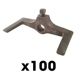 100 2x4 Double Screed Hooks Concrete Forms Screed Post Slab Curb Patio Inch