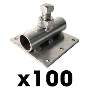 100 Header Form Brackets Concrete Forms Screed Post Slab Curb Patio Inch Bracket