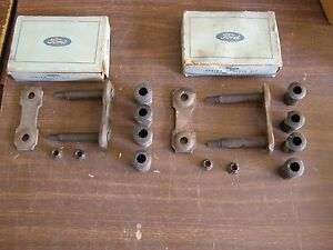 Nos Oem Ford 1951 Rear Spring Shackle Kits Custom Customline Crestliner Victoria