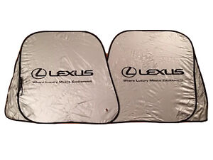 New Foldable Lexus Sunshade Sun Shade Level 7 Easy Fold Pivot System Fits Lexus