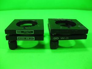 Nrc newport Kinematic Mount Mm 2a lot Of 2 Used
