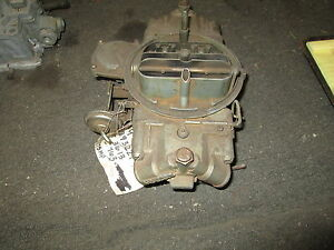 1966 Holley Carburetor 3613 List 396 375hp Chevelle 3893229