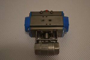 One New Uci Pneumatic 1 Valve Pc s2s 8
