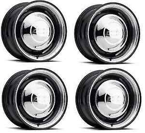 Us Wheel 657 5712 Set Of 4 15x7 Oe Series 657 6mm Offset Paint Ready Wheels