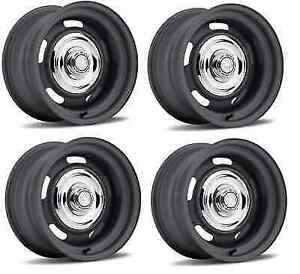 Us Wheel 54 4710 Set Of 4 14x7 Rallye 0 Offset Paint Ready Wheels