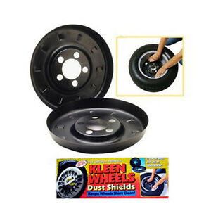 Kleen Wheels 1490 Brake Dust Shield Pair 2002 2005 Chevy Cavalier 16 Alloy