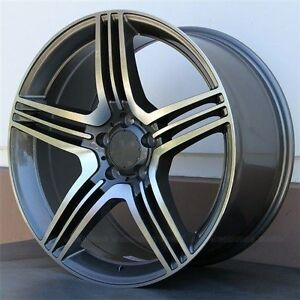 Set 4 19x8 19x9 Wheels Tires Pkg Gla C250 C300 C350 2008 16 E350 E550 2010 16