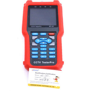 Pro Cctv Cable Tester Analog Cvbs Signal Rj45 Bnc And Metal Cable Length Nf 707