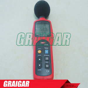 Ut352 Sound Level Meter For Enviromental Noise Testing Db Decibel Noise Tester
