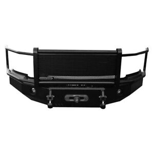 Iron Cross Hd Grille Guard Front Bumper For 2004 2015 Nissan Titan 24 915 04