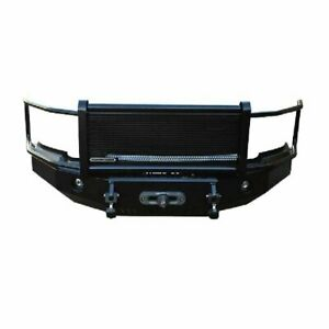Iron Cross Hd Grille Guard Front Bumper For 2006 2009 Dodge Ram 2500 3500