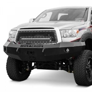 Iron Cross Hd Base Front Bumper For 2007 2013 Toyota Tundra Truck 20 715 07
