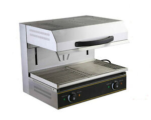 Heavy Duty Commercial Electric Lift up Salamander Broiler High Power Kitchen 220