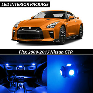 Blue Interior Led Lights Package Kit For 2007 2015 Nissan Altima