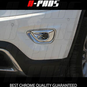 For Jeep Grand Cherokee 2014 2016 Chrome Front Fog Lamp Light Bezel Cover