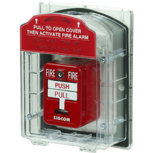 Fire Alarm Pull Station Cover Modular Has Options For Horn Wp Sti 1200 1100