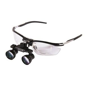 New 3 5x Dental Medical Binocular Loupes Magnifier Antifogging Aluminum Frame