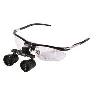 2 5x 3 5x Dental Medical Binocular Loupes Magnifier Antifogging Aluminum Frame