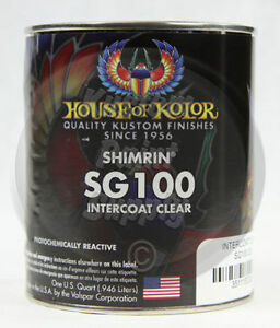 House Of Kolor Sg100 Shimrin Intercoat Clear 1 Quart