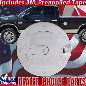 For 1994 1995 1996 1997 1998 1999 2000 2001 Dodge Ram 1500 Chrome Gas Door Cover