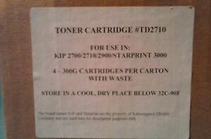 Kip 2700 2710 2900 starprint 3000 Toner Kit