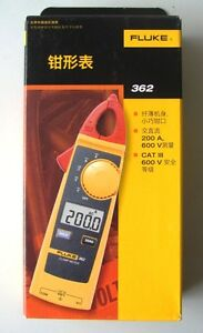 New Fluke 362 Detachable Jaw True rms Ac dc Clamp Meter