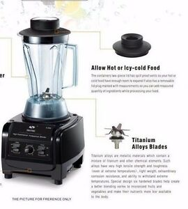 Heavy Duty Powerful Blender Up To Speed 38 000 Rpm 64 Oz Smoothies Juicer Health