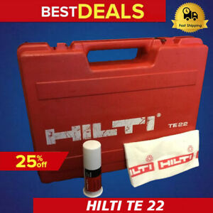 Hilti Case For Te 22 only Case Preowned Hilti Grease Fast Ship