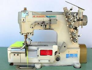 Pegasus W562 Coverstitch 3 needle Elastic Attaching Industrial Sewing Machine