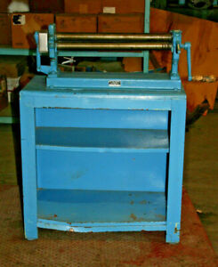 Peck Stow Wilcox Roll Bender 20 25 Forming Area 1 5 Dia 0384b With Stand