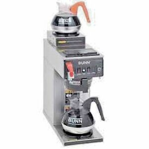 New 12 Cup Automatic Coffee Brewer 2 Warmer