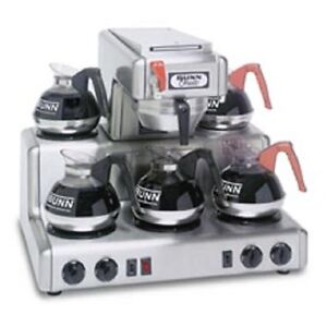 New Bunn 12 Cup Auto Coffee Brewer With 5 Warmers Rt